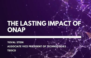 The Lasting Impact of ONAP