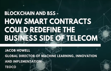 How Smart Contracts Could Redefine The Business Side of Telecoms Podcast