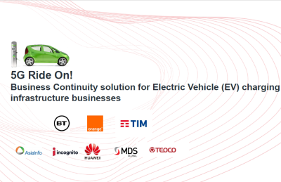 5G Ride On! Phase III Catalyst Project: Business Continuity solution for Electric Vehicle (EV) charging infrastructure businesses