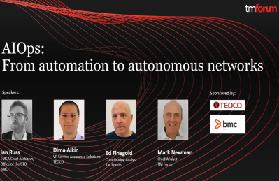 AIOps: From Automation to Autonomous Networks Webinar