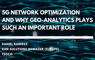 5G Optimization and Why Geo-Analytics Plays Such An Important Role