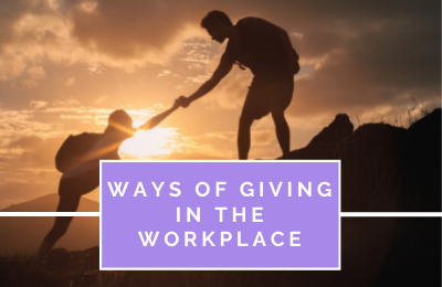 Ways of Giving in the Workplace